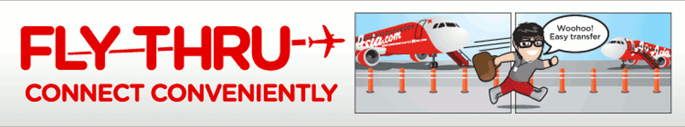 AirAsia Fly Thru Service - Connect Conveniently