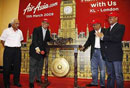 AirAsia X flies to London's Stansted Airport from the LCCT