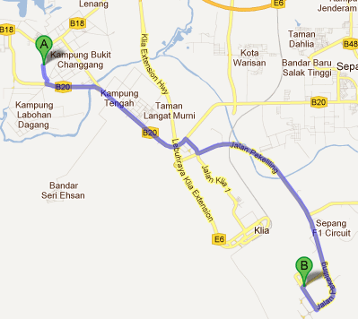 Map from Banting to LCCT