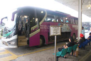 Shuttle bus from LCCT to Salak Tinggi station