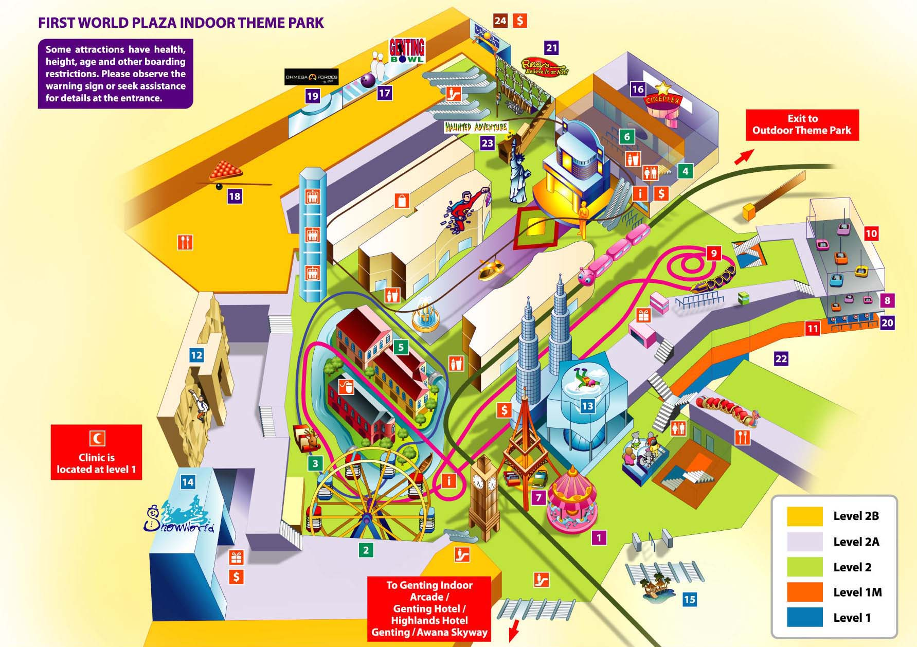 Bullring Floor Plan How To Go To Genting Highlands Lcct Com My