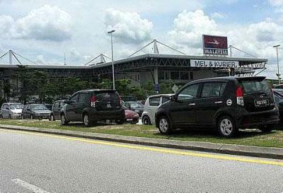 High parking rates at LCCT