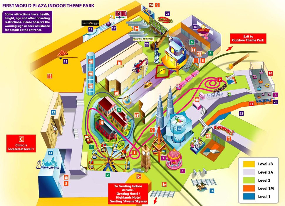 First World Plaza Indoor Theme Park