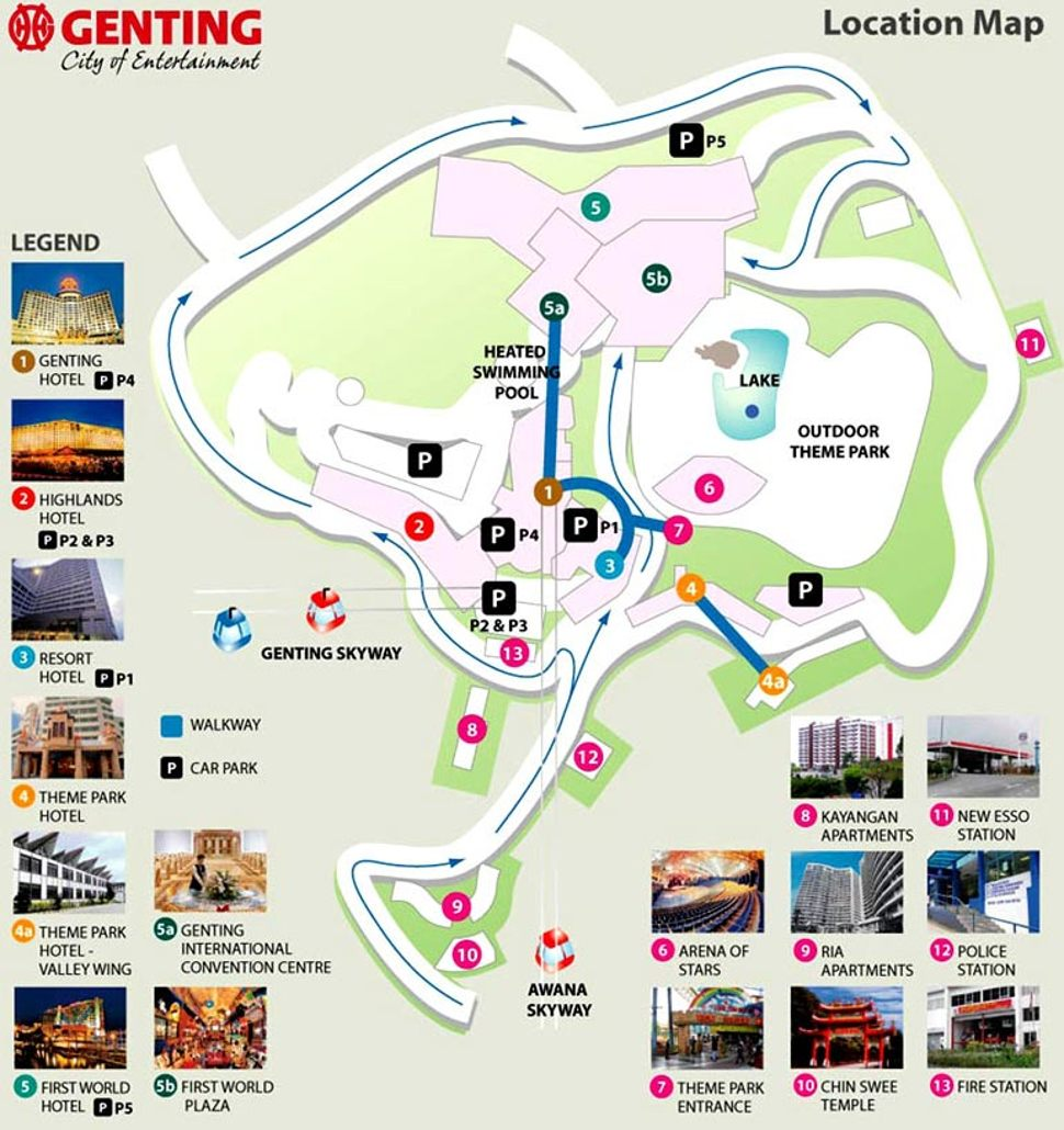 How To Go To Genting Highlands Lcct Com My