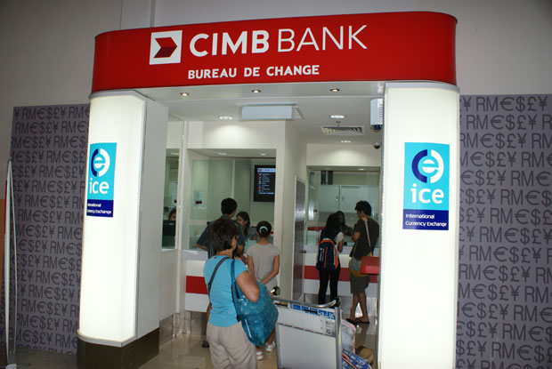 Cimb Money Exchange Counter