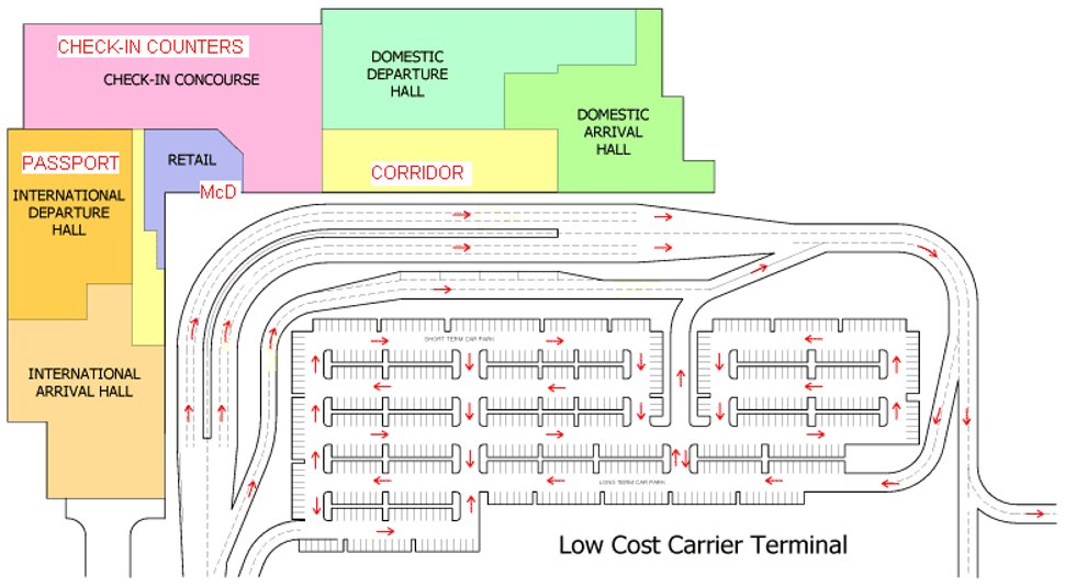 LCCT Floor Layout Plan