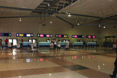 Check in counters, LCCT