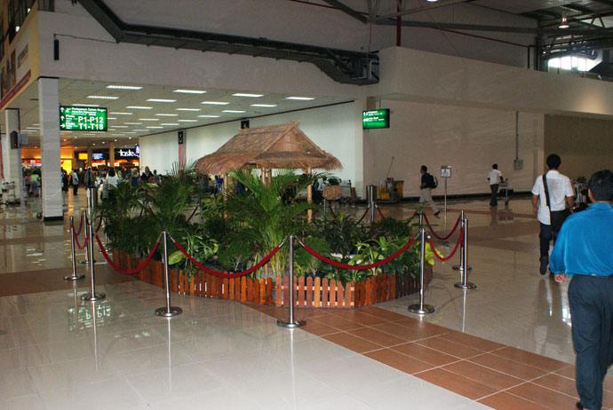 Decoration inside LCCT
