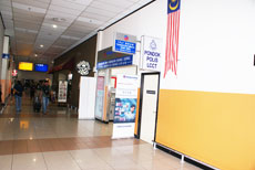 Money exchange counter, LCCT