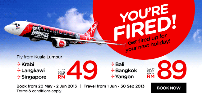 AirAsia Promotion - Fired Up Sale