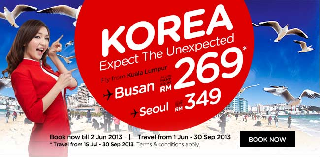 AirAsia Promotion - Korea, Expect The Unexpected