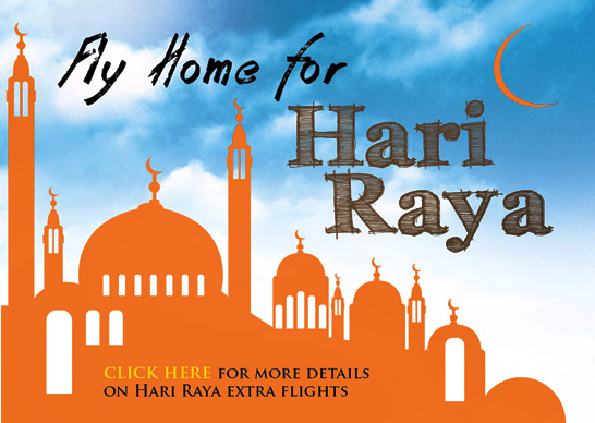 Firefly Promotion - Fly home for Hari Raya