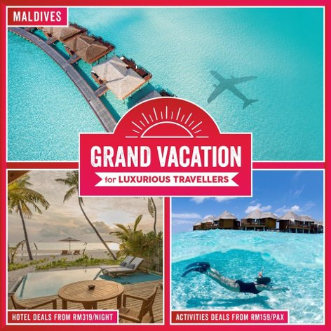 Grand vaction for luxurious travellers