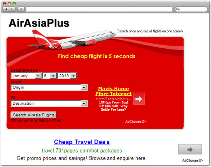 airasiaplus.com Check Air Fare tool