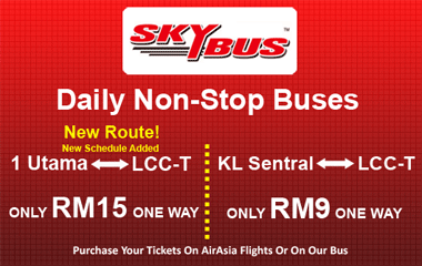Skybus schedule