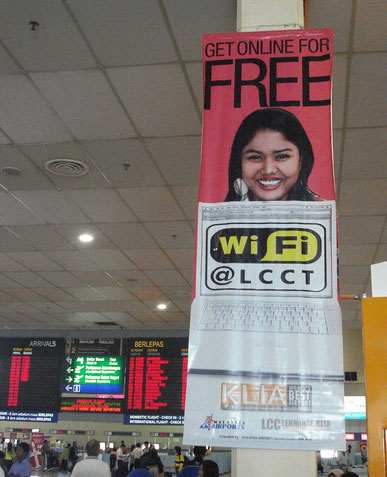 Wifi Internet Access at LCCT