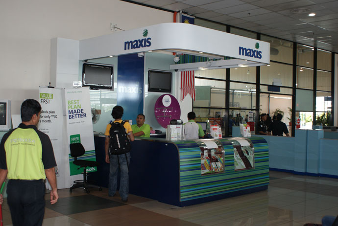 LCCT Maxis Centre, Public Concourse LCCT, Opening Hours: Daily 6am-12midnight, Payment Methods: Cash, Credit Cards