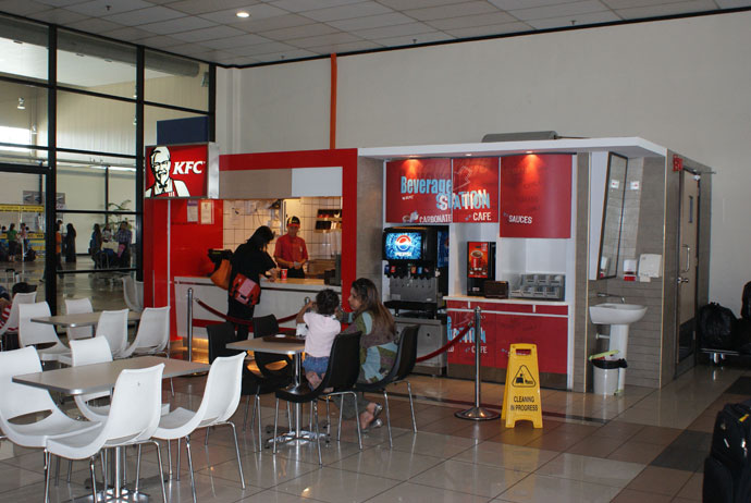 KFC outlet inside LCCT