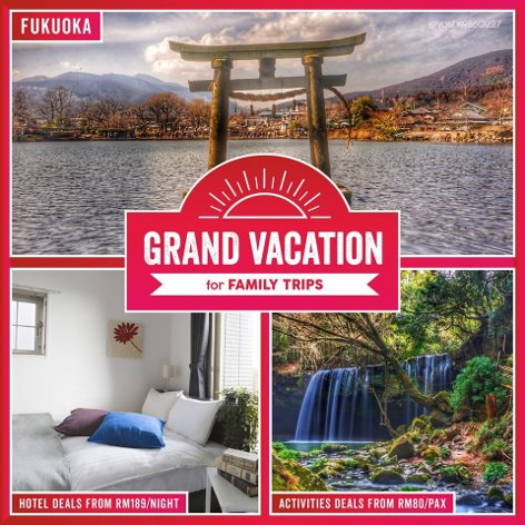 Grand vaction for family trips