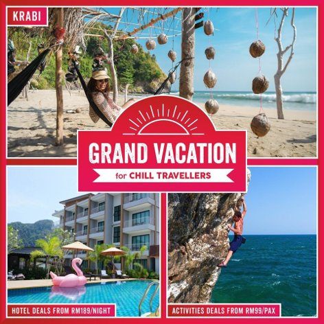 Grand vacation for chill travellers