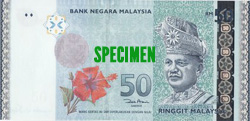 Fifty Malaysia Ringgit (RM50)