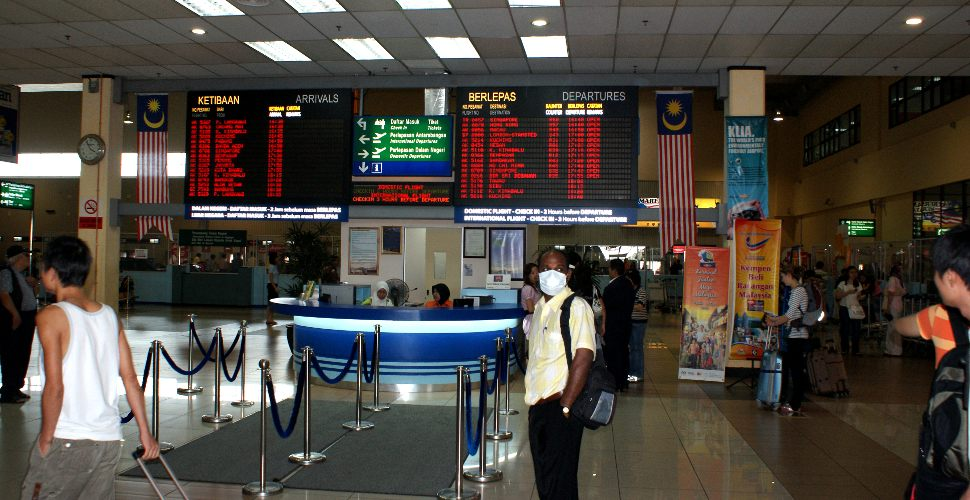 Customer service, information center at LCCT