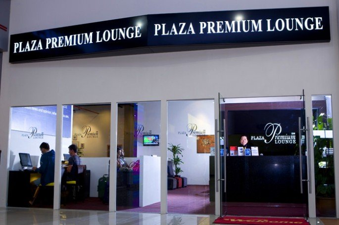 LCCT Plaza Premium Lounge Entrance