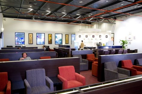 LCCT Plaza Premium Lounge Seating